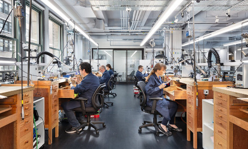 Tiffany & Co.'s Jewelry Design and Innovation Workshop.